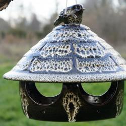 mangeoire à oiseaux suspendue